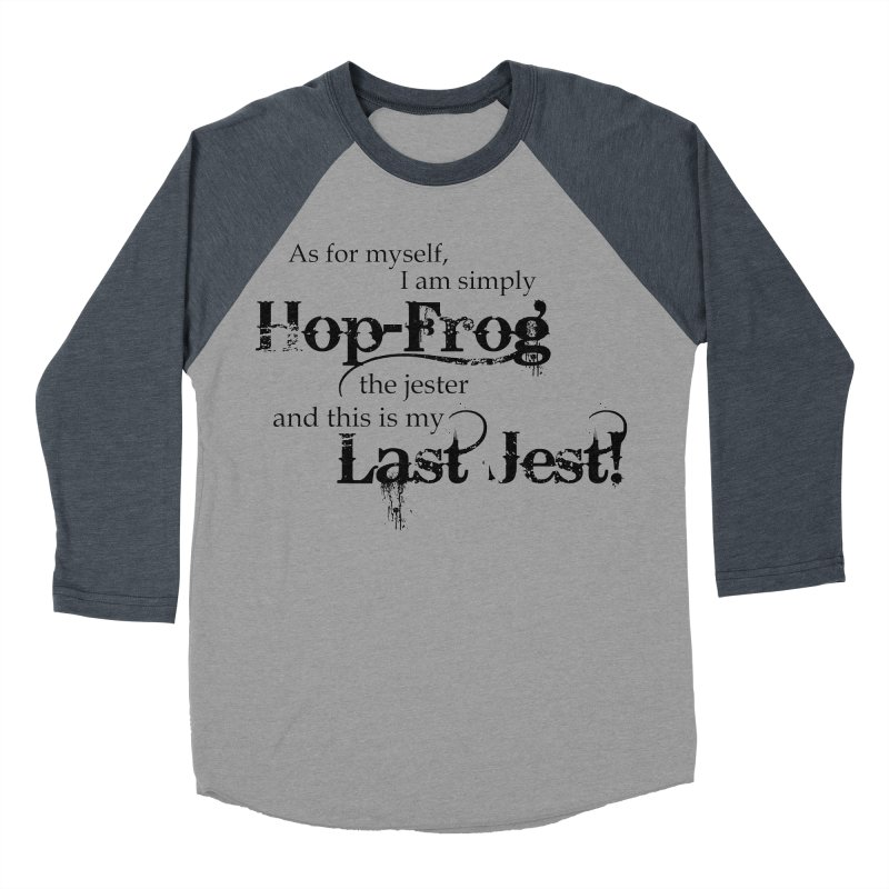 Hop Frog Women's Baseball Triblend T-Shirt by Ellygator's Artist Shop