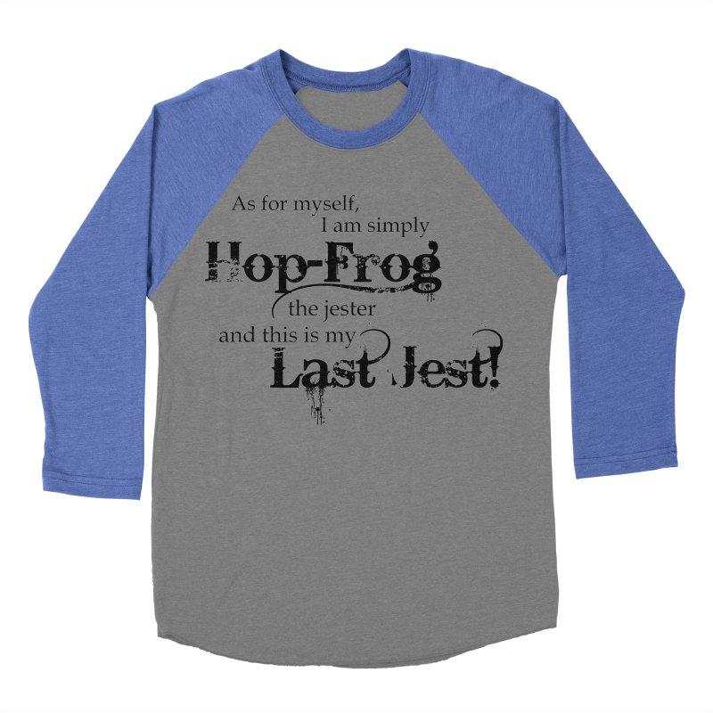 Hop Frog Men's Baseball Triblend T-Shirt by Ellygator's Artist Shop