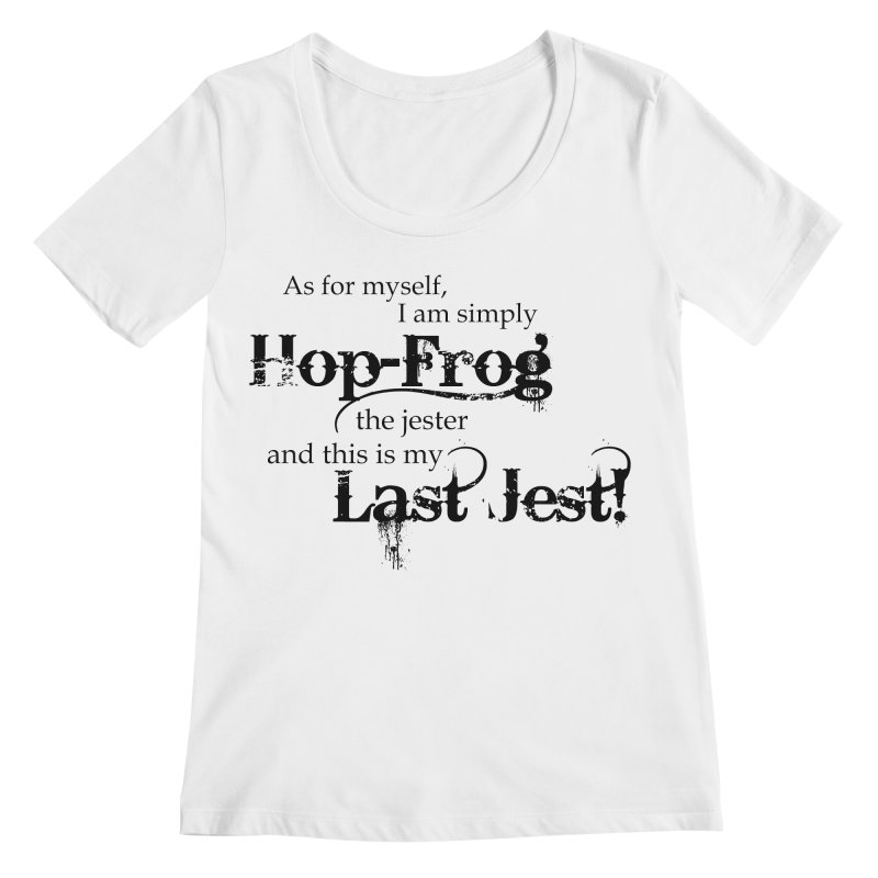 Hop Frog Women's Scoopneck by Ellygator's Artist Shop