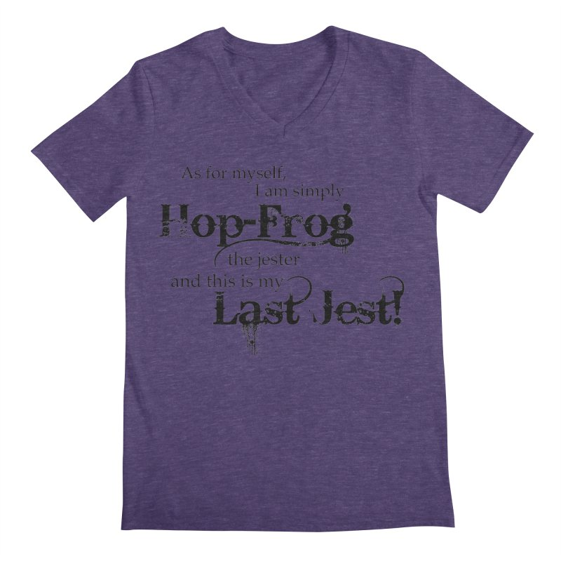 Hop Frog Men's V-Neck by Ellygator's Artist Shop