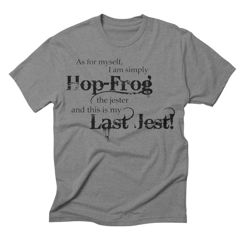 Hop Frog Men's Triblend T-shirt by Ellygator's Artist Shop