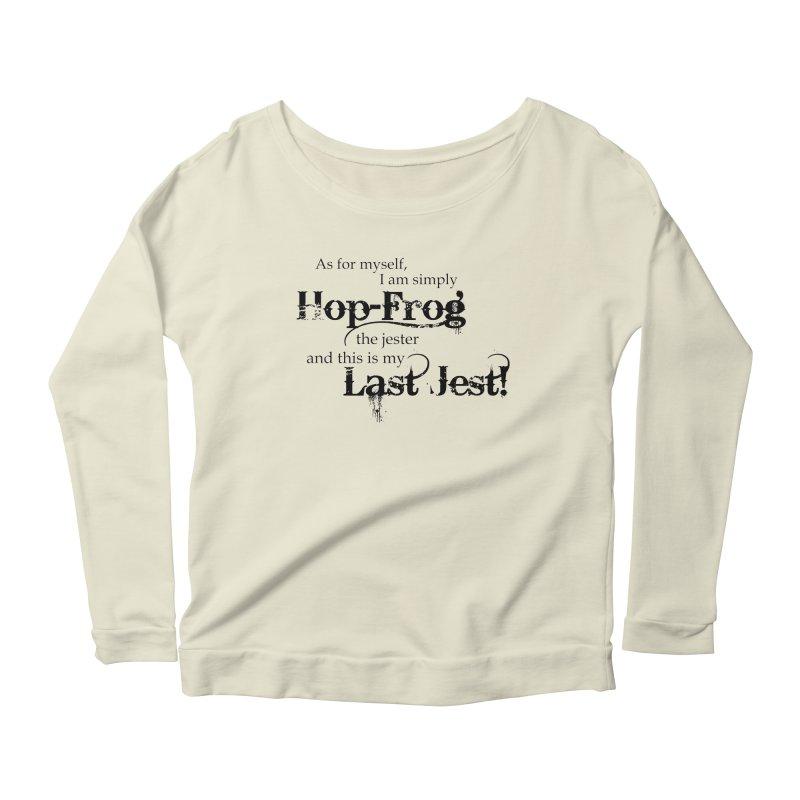 Hop Frog Women's Longsleeve Scoopneck  by Ellygator's Artist Shop