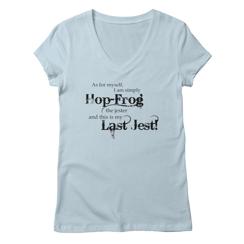 Hop Frog Women's V-Neck by Ellygator's Artist Shop