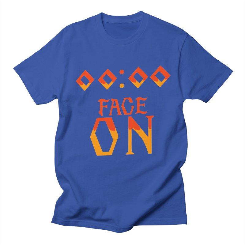FACE ON Men's T-Shirt by Ellygator's Artist Shop