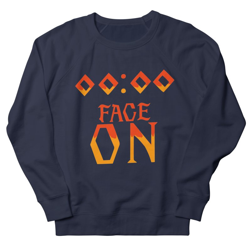 FACE ON Men's Sweatshirt by Ellygator's Artist Shop