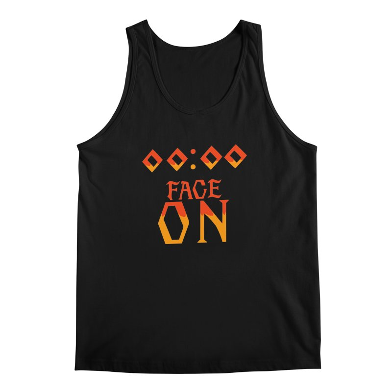 FACE ON Men's Tank by Ellygator's Artist Shop