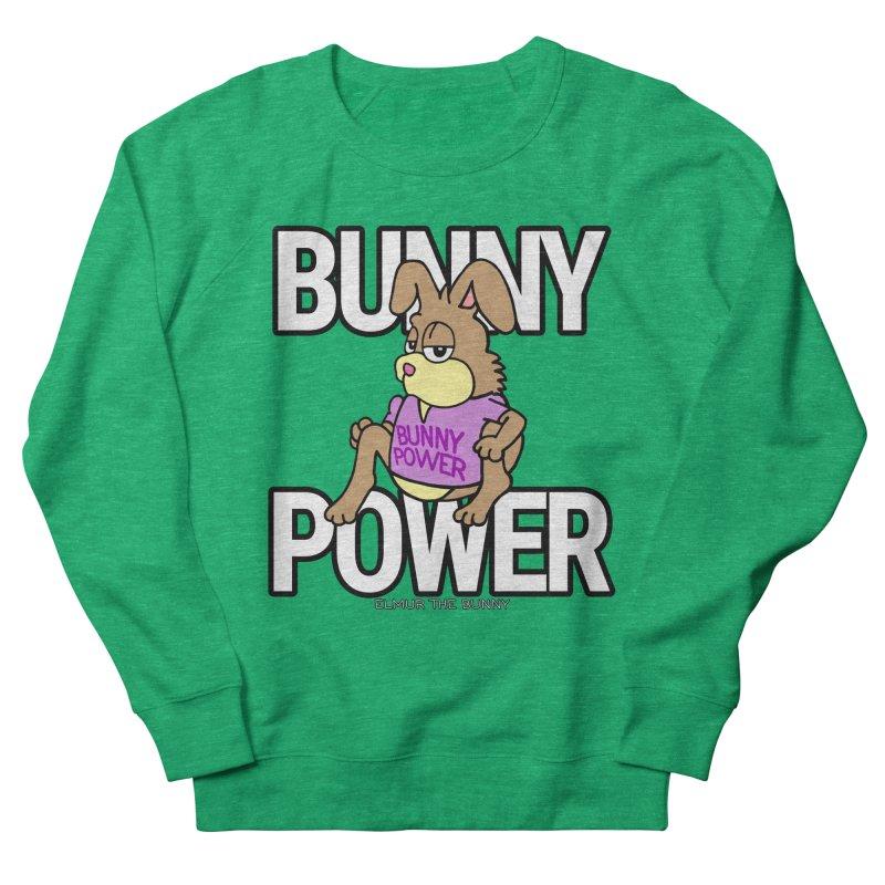 BUNNY POWER - Elmur the Bunny Women's Sweatshirt by The Rabbit Hole - Elmur the Bunny Shop