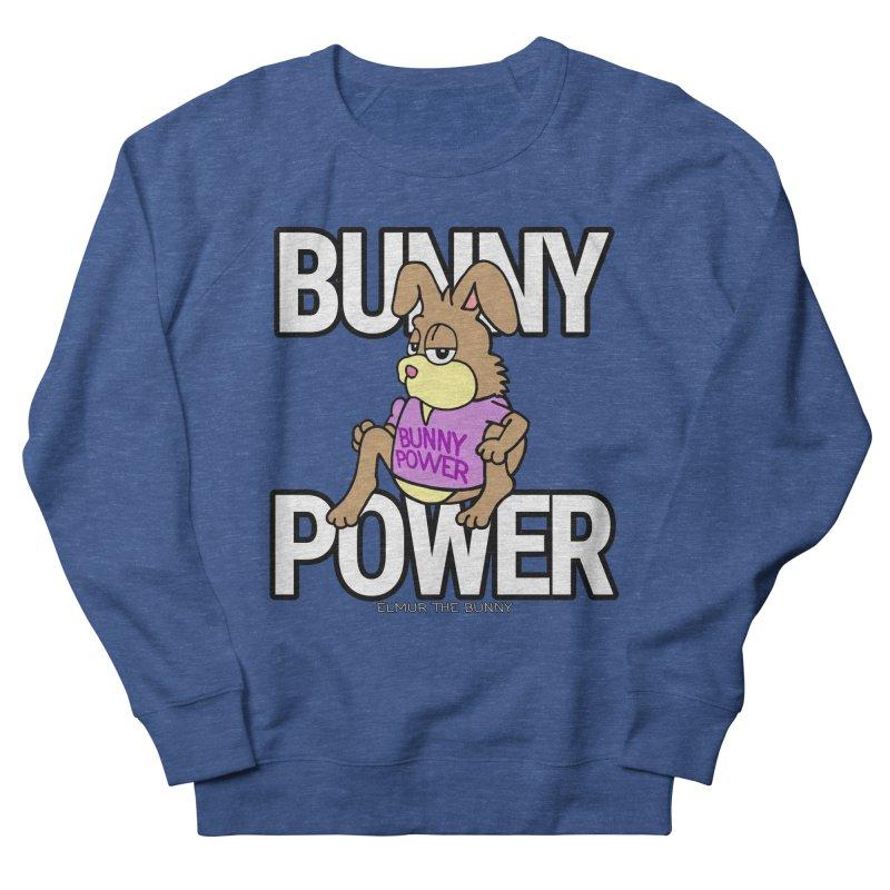 BUNNY POWER - Elmur the Bunny Men's Sweatshirt by The Rabbit Hole - Elmur the Bunny Shop