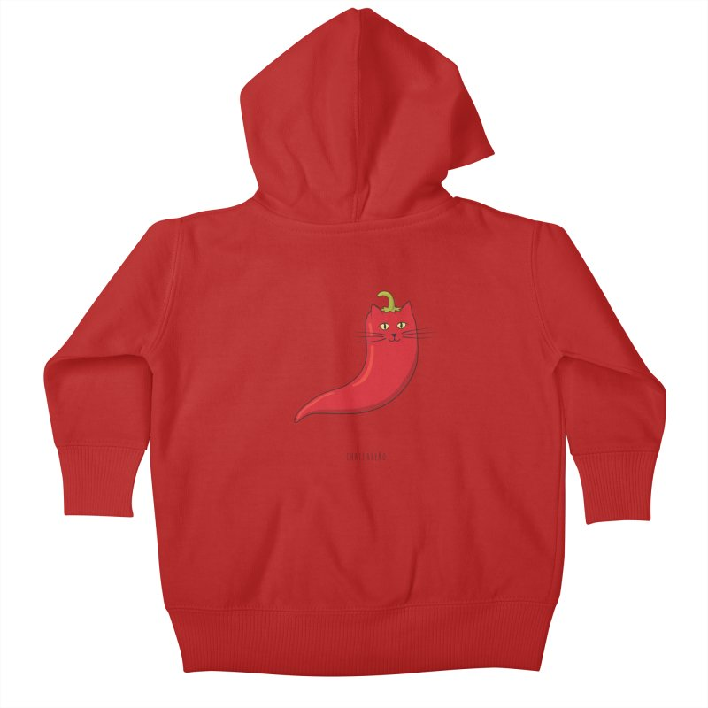 Chatlapeño Kids Baby Zip-Up Hoody by elvisbr's Artist Shop