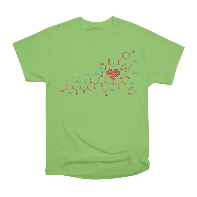 The Chemistry of Love Men's Heavyweight T-Shirt by elvisbr's Artist Shop