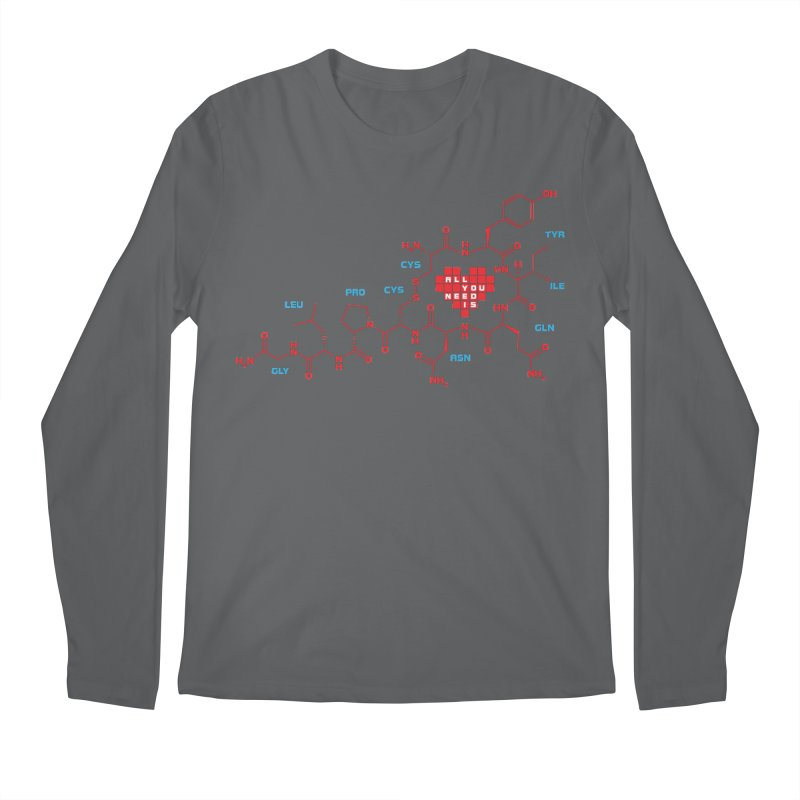 The Chemistry of Love Men's Regular Longsleeve T-Shirt by elvisbr's Artist Shop
