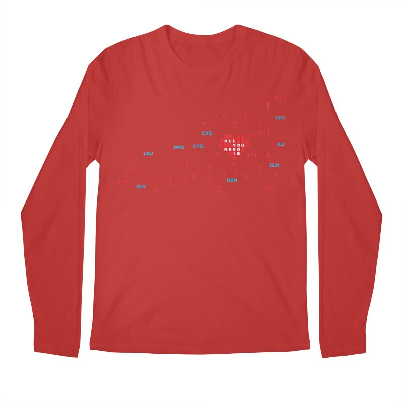 The Chemistry of Love Men's Regular Longsleeve T-Shirt by elvisbr's Artist Shop