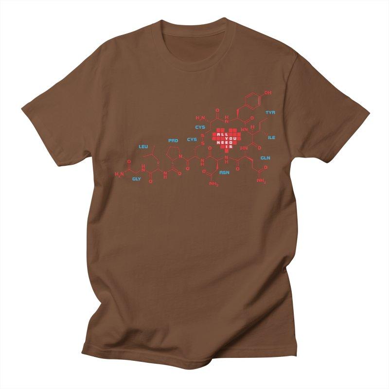 The Chemistry of Love Women's Regular Unisex T-Shirt by elvisbr's Artist Shop