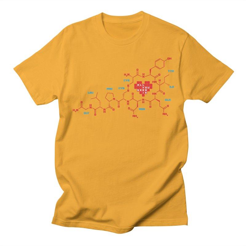 The Chemistry of Love Men's T-Shirt by elvisbr's Artist Shop