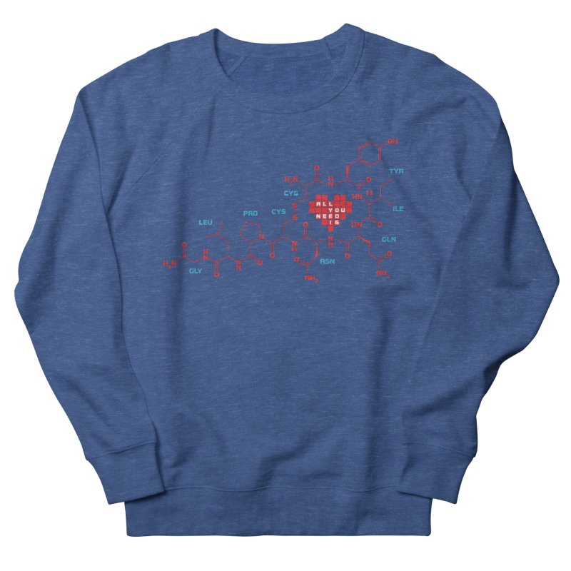 The Chemistry of Love Men's French Terry Sweatshirt by elvisbr's Artist Shop