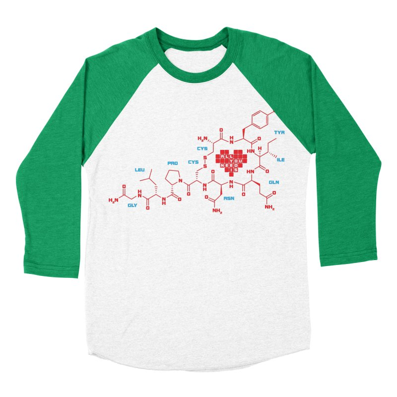 The Chemistry of Love Women's Baseball Triblend T-Shirt by elvisbr's Artist Shop