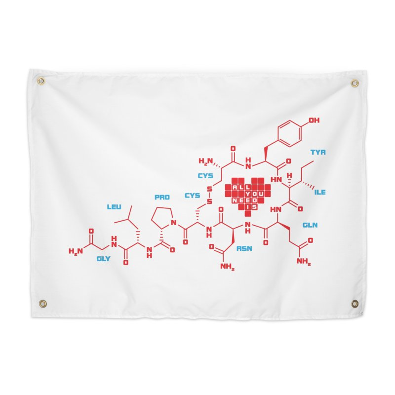 The Chemistry of Love Home Tapestry by elvisbr's Artist Shop