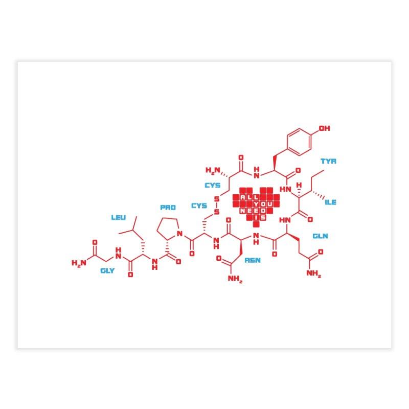 The Chemistry of Love Home Fine Art Print by elvisbr's Artist Shop