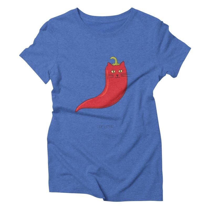 Chatlapeno Women's Triblend T-Shirt by elvisbr's Artist Shop