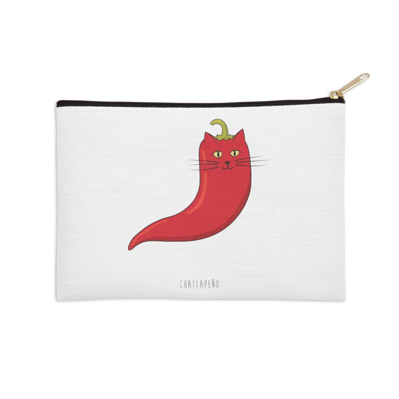 Chatlapeno Accessories Zip Pouch by elvisbr's Artist Shop