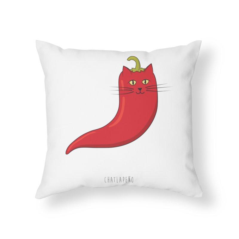 Chatlapeno Home Throw Pillow by elvisbr's Artist Shop