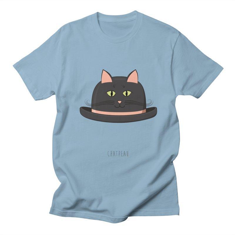 Chatpeau Men's T-Shirt by elvisbr's Artist Shop