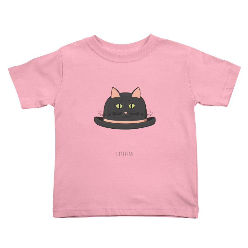 Chatpeau Kids Toddler T-Shirt by elvisbr's Artist Shop
