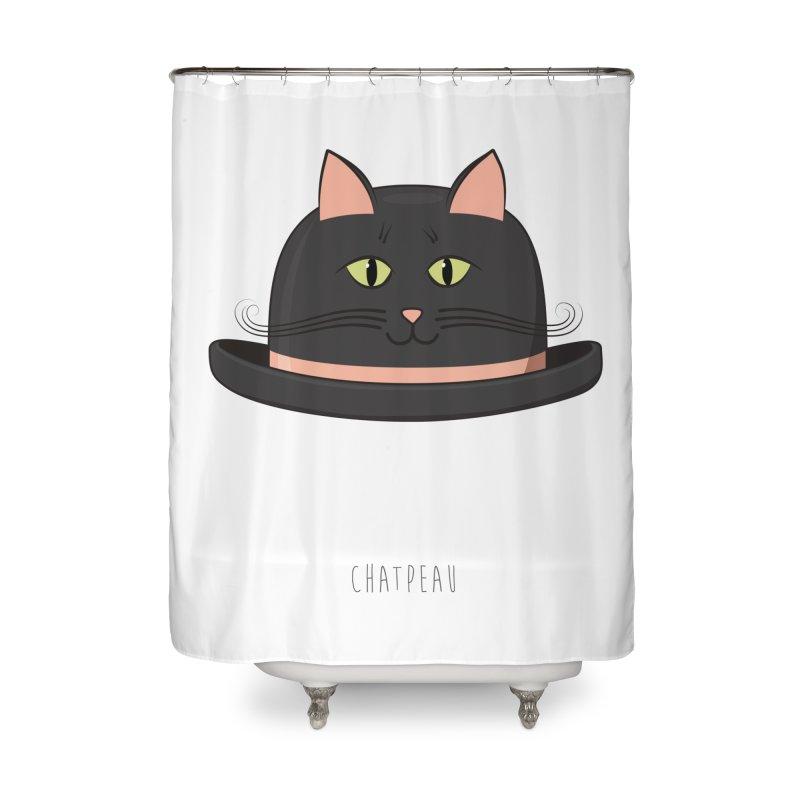 Chatpeau Home Shower Curtain by elvisbr's Artist Shop