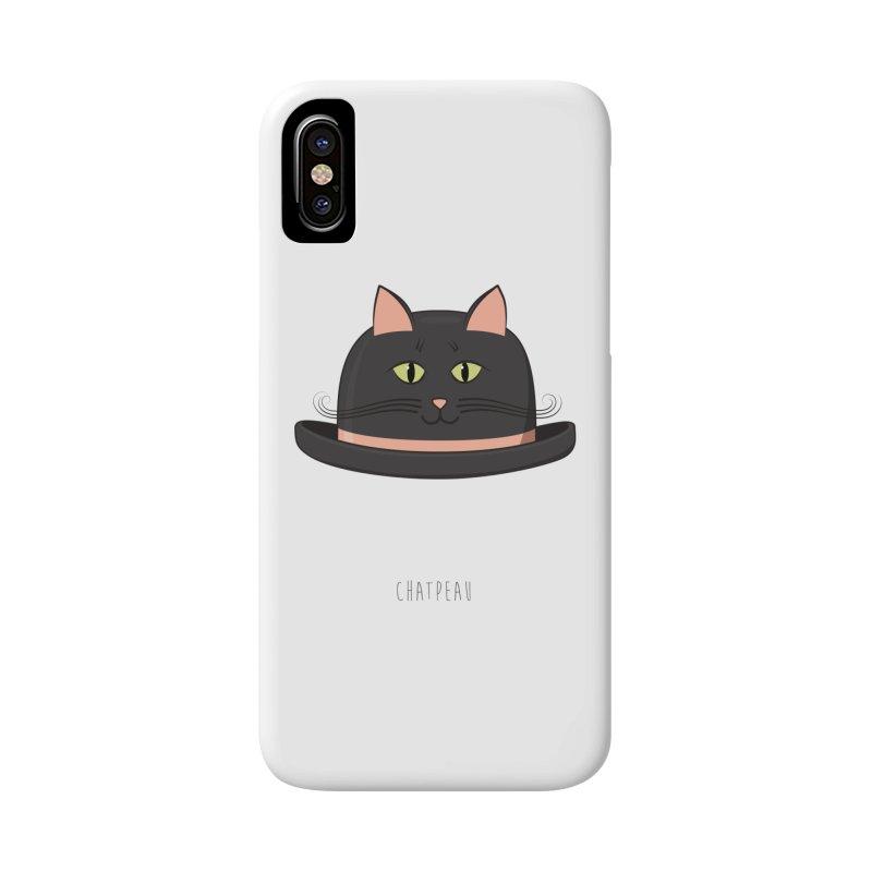 Chatpeau Accessories Phone Case by elvisbr's Artist Shop