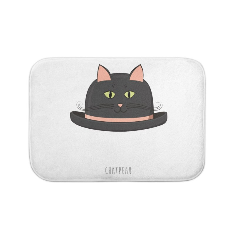 Chatpeau Home Bath Mat by elvisbr's Artist Shop