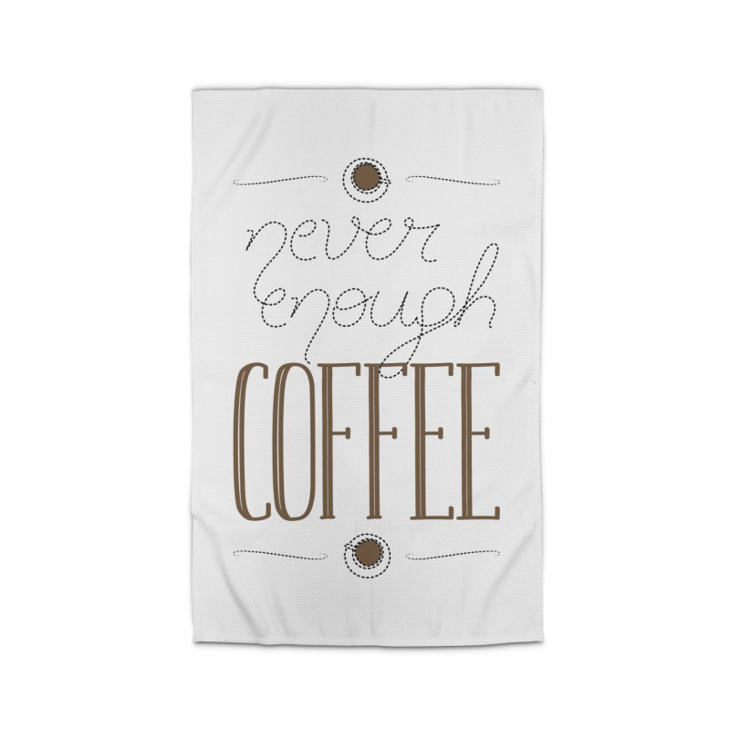 Never Enough Coffee Home Rug by elvisbr's Artist Shop