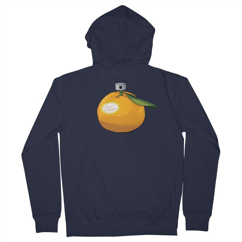 Tangerine: Smell of Victory Women's Zip-Up Hoody by elvisbr's Artist Shop
