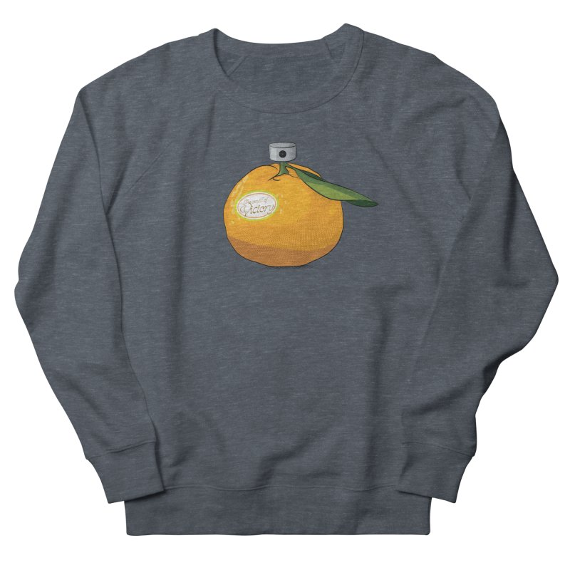 Tangerine: Smell of Victory Men's French Terry Sweatshirt by elvisbr's Artist Shop