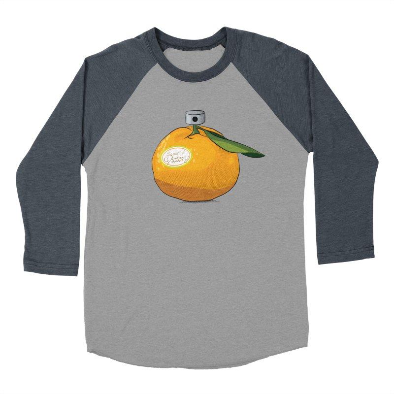 Tangerine: Smell of Victory Women's Baseball Triblend T-Shirt by elvisbr's Artist Shop
