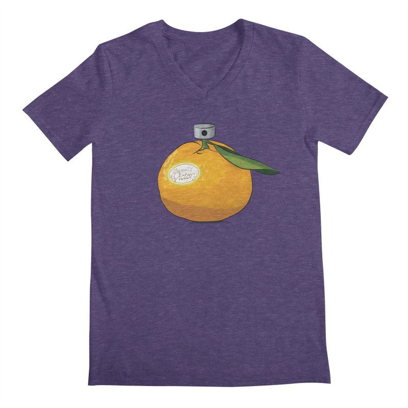 Tangerine: Smell of Victory Men's V-Neck by elvisbr's Artist Shop
