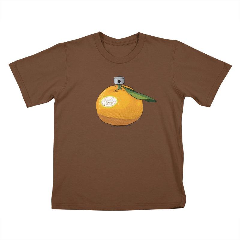 Tangerine: Smell of Victory Kids T-Shirt by elvisbr's Artist Shop
