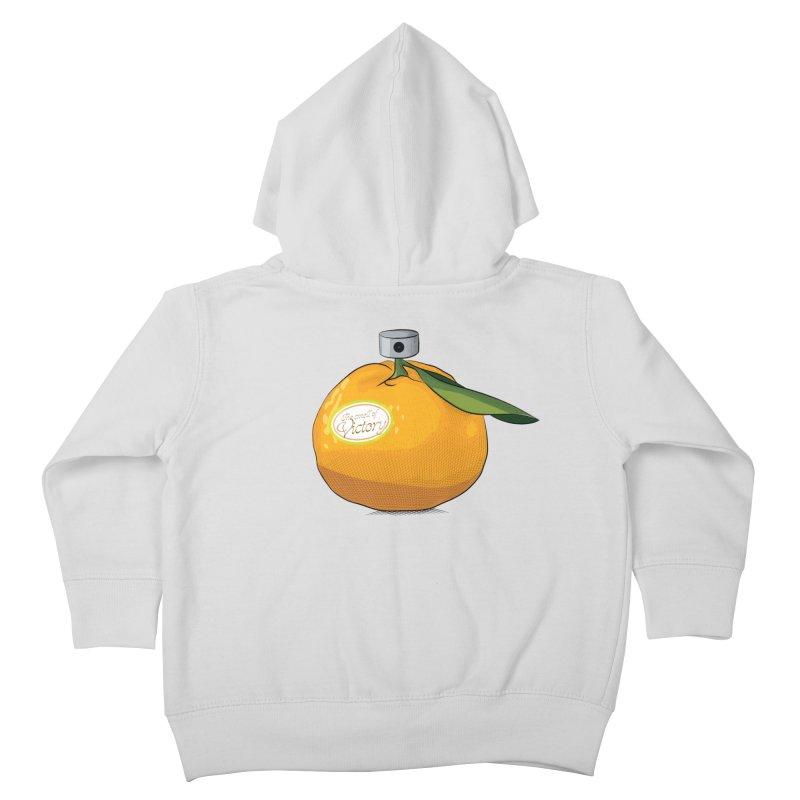 Tangerine: Smell of Victory Kids Toddler Zip-Up Hoody by elvisbr's Artist Shop