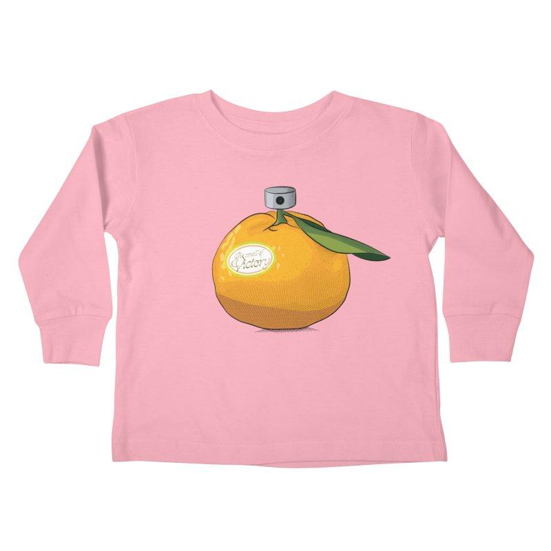 Tangerine: Smell of Victory Kids Toddler Longsleeve T-Shirt by elvisbr's Artist Shop