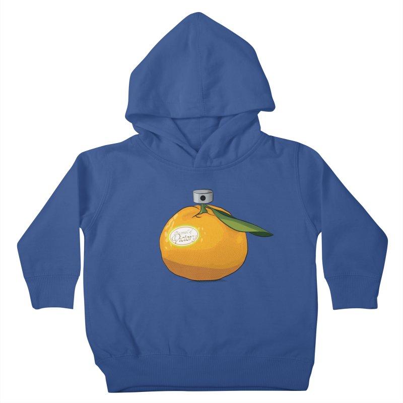 Tangerine: Smell of Victory Kids Toddler Pullover Hoody by elvisbr's Artist Shop