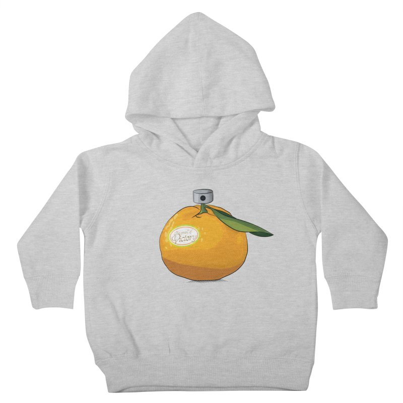 Tangerine: Smell of Victory Kids Toddler Pullover Hoody by elvisbr's Artist Shop