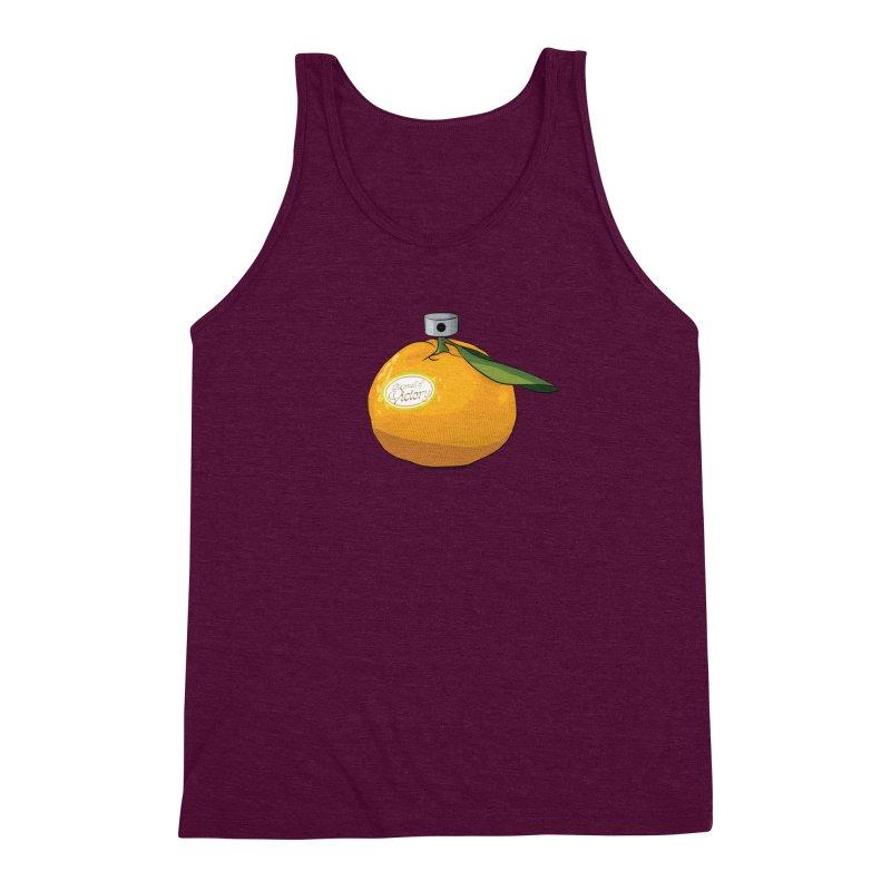 Tangerine: Smell of Victory Men's Triblend Tank by elvisbr's Artist Shop