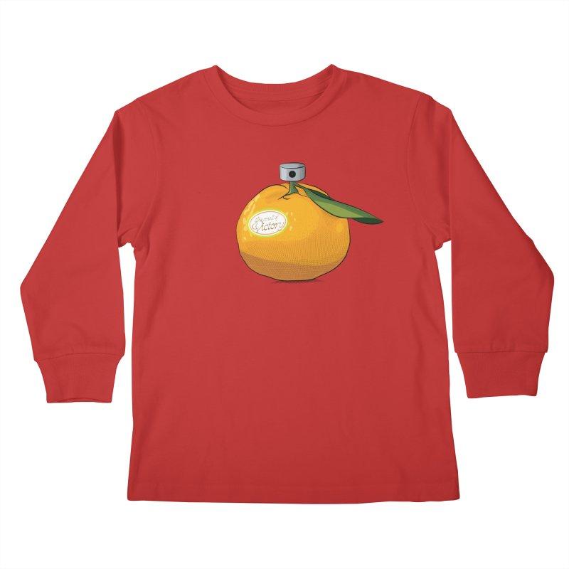 Tangerine: Smell of Victory Kids Longsleeve T-Shirt by elvisbr's Artist Shop