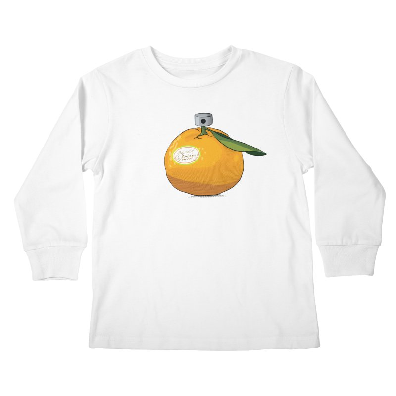 Tangerine: Smell of Victory Kids Longsleeve T-Shirt by elvisbr's Artist Shop