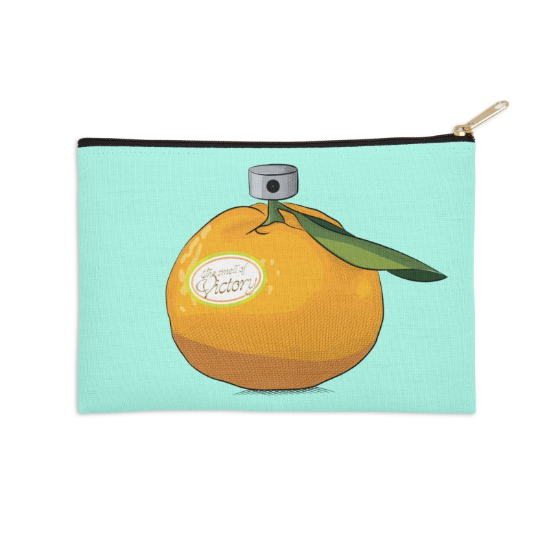 Tangerine: Smell of Victory Accessories Zip Pouch by elvisbr's Artist Shop