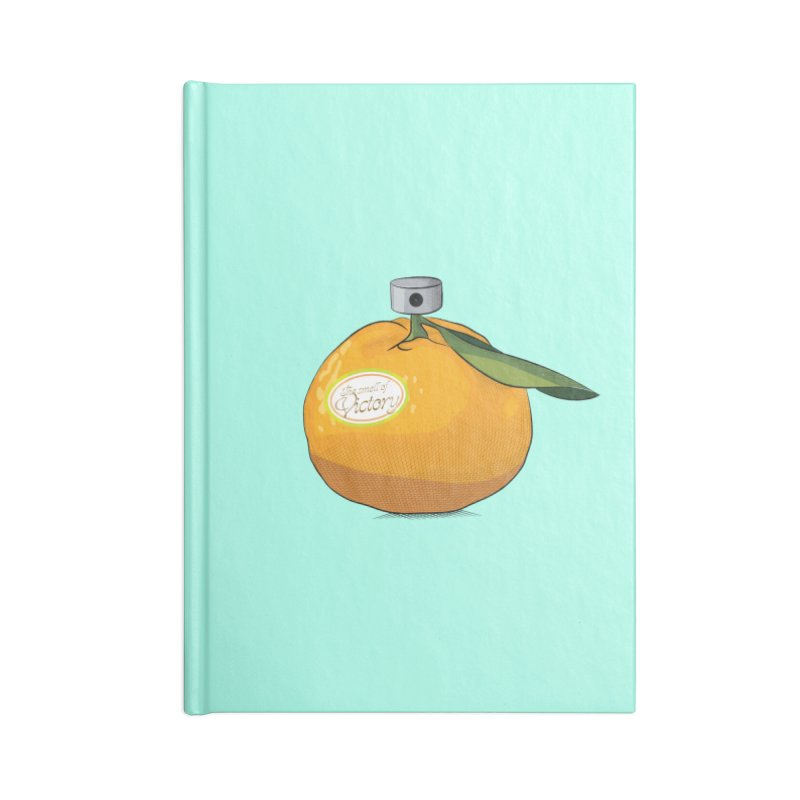 Tangerine: Smell of Victory Accessories Notebook by elvisbr's Artist Shop
