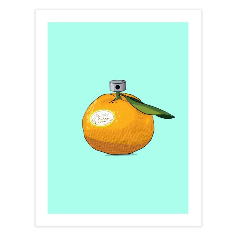 Tangerine: Smell of Victory Home Fine Art Print by elvisbr's Artist Shop
