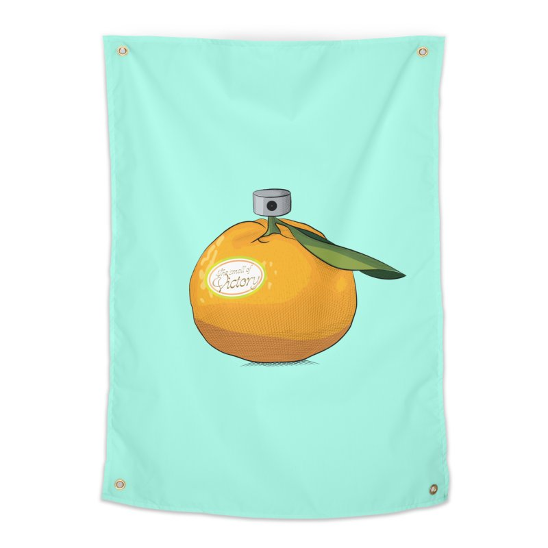 Tangerine: Smell of Victory Home Tapestry by elvisbr's Artist Shop