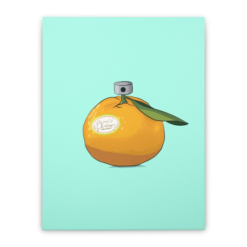 Tangerine: Smell of Victory Home Stretched Canvas by elvisbr's Artist Shop