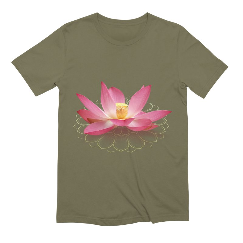 Lotus Men's Extra Soft T-Shirt by elvisbr's Artist Shop