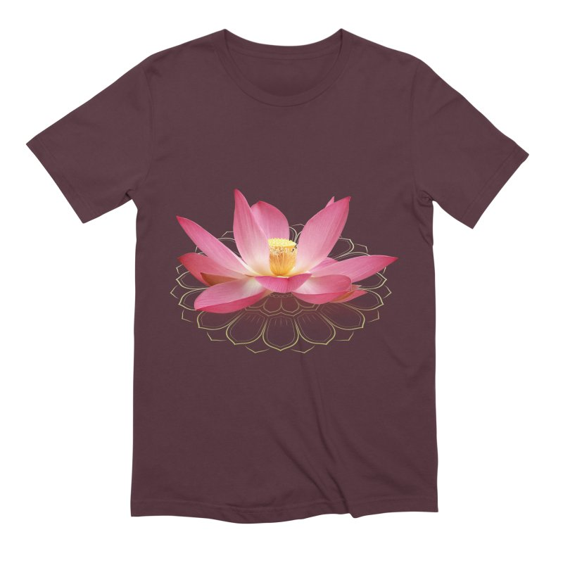 Lotus Men's Extra Soft T-Shirt by elvisbr's Artist Shop